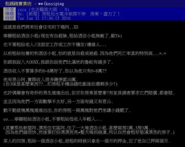 悲哀!房东:宁愿租酒店小姐 也不租老人43 作者:房东先生 ID:81